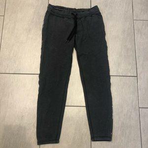 Lululemon Joggers Grey Multi Lining Zipper Pocket